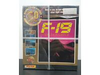 Vintage Micro Prose F-19 Stealth Fighter Original Big Box Sealed Amiga Game