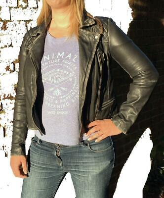 *CLASSIC STYLE* ALL SAINTS CARGO LEATHER BIKER JACKET Conroy 4/6/8/10 RRP £345