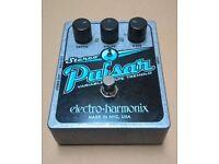 Electro Harmonix Pulsar - Made in USA - Tremolo/Stereo-Pan Guitar Pedal - EHX