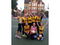 Netball Players and Teams needed for New leagues in January, SW6