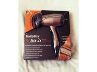 Babyliss Beliss 2x Hair Dryer and Straighter 2 in 1 5720u
