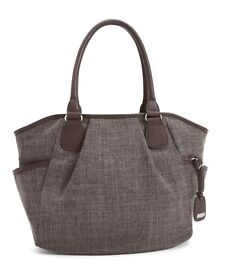 Mamas and papas changing bag in chestnut tweed