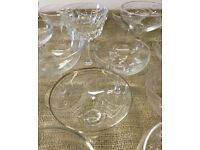 Champagne Saucers X 45