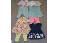 Baby Girl small summer bundle size 3-6months