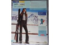 Ladies Ski Trousers - black, windproof, waterproof, breathable