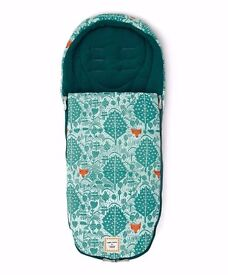 Mamas and papas special addition donna wilson fox print cold weather footmuff