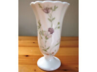 Wedgwood bone china Campion trumpet vase. Excellent condition. £8 ovno. Can post.