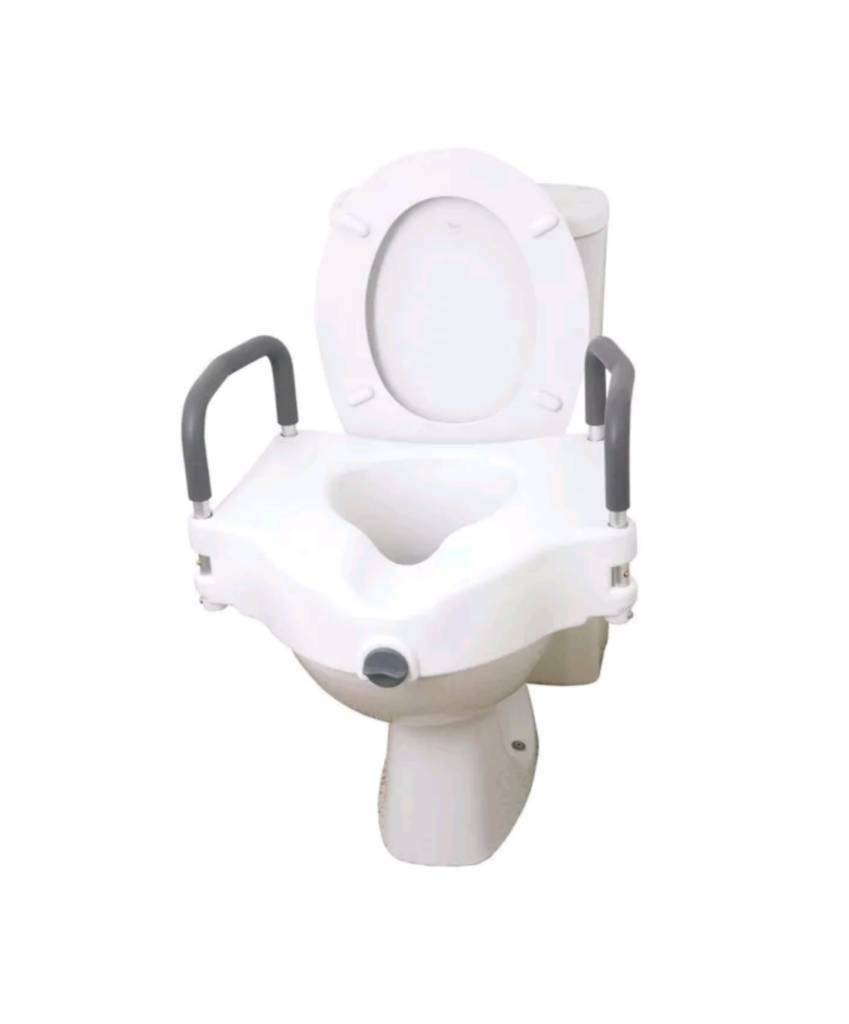 Fabulous Mobility Raised Toilet Seat With Removable Handels New In Liverpool Merseyside Gumtree Caraccident5 Cool Chair Designs And Ideas Caraccident5Info
