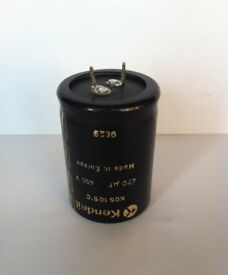 Snap-In Capacitor 450V, 470uF ( 35mm Dia x 50mm height )