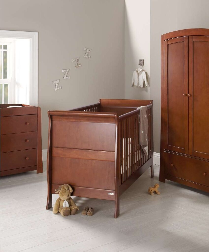 Mamas And Papas Bedroom Furniture Bargain Mamas And Papas Mia Walnut 3 Piece Set In Trafford