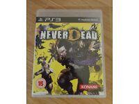 PS3 - NeverDead - Excellent Condition