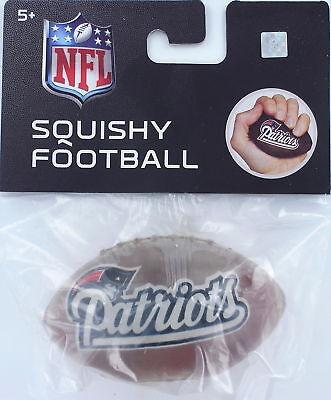 NFL PATRIOTS Pats Mini FOOTBALL Gel Stress Ball Brady Boston New England AFC -