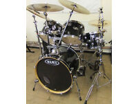 Mapex ProM 6 Piece Drum Kit with Stands, Meinl Cymbals and Bags