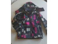 Comptoir Des Montagnes girls ski jacket aged 4 yrs