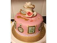 Homemade Birthday Cakes. Cupcakes.