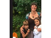 Part-time live-out nanny wanted. Friendly family in Stoke Newington.
