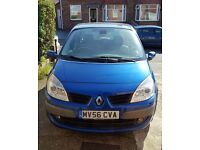 Renault scenic 2007,1.9 diesel,full m.o.t