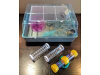 Ferplast Mini Duna Hamster Cage Grey New! + Extras and upgrades. Worth £55.00 in total.
