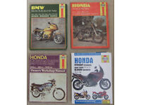 Collection of 10 Haynes Manuals - see photos & text for details