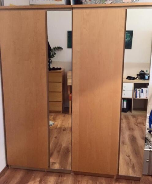 ikea kleiderschrank in n rnberg s dstadt ebay kleinanzeigen. Black Bedroom Furniture Sets. Home Design Ideas