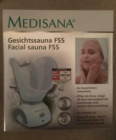 Medisana Facial Sauna FSS, BNIB, RRP £35, Spa, Cleanse, Pores