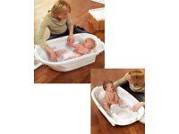 Mamas & Papas Pearl Acqua Bambino Two Stage Baby Bath