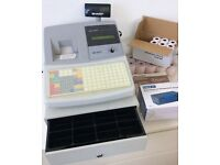 SHARP Cash register / Till with Paper and Accessories