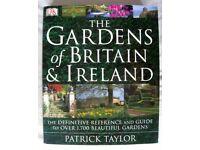 THE GARDENS OF BRITAIN & IRELAND BY PATRICK TAYLOR. DORLING KINDERSLEY HARDBACK BOOK