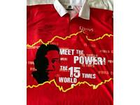 Phill the power tayler signed Riley Road show shirt with Coa