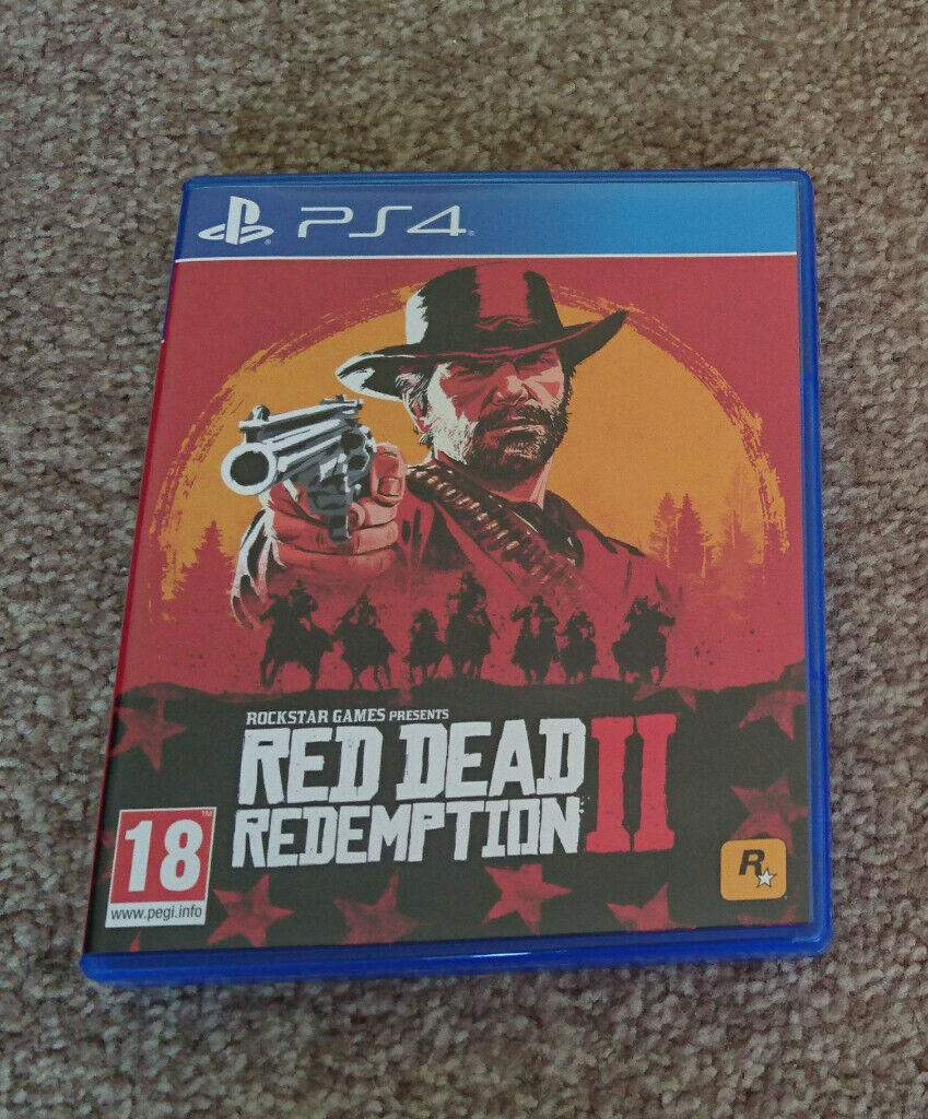 Read Dead Redemption 2 PS4 Playstation 4 | in Pennington, Hampshire |  Gumtree