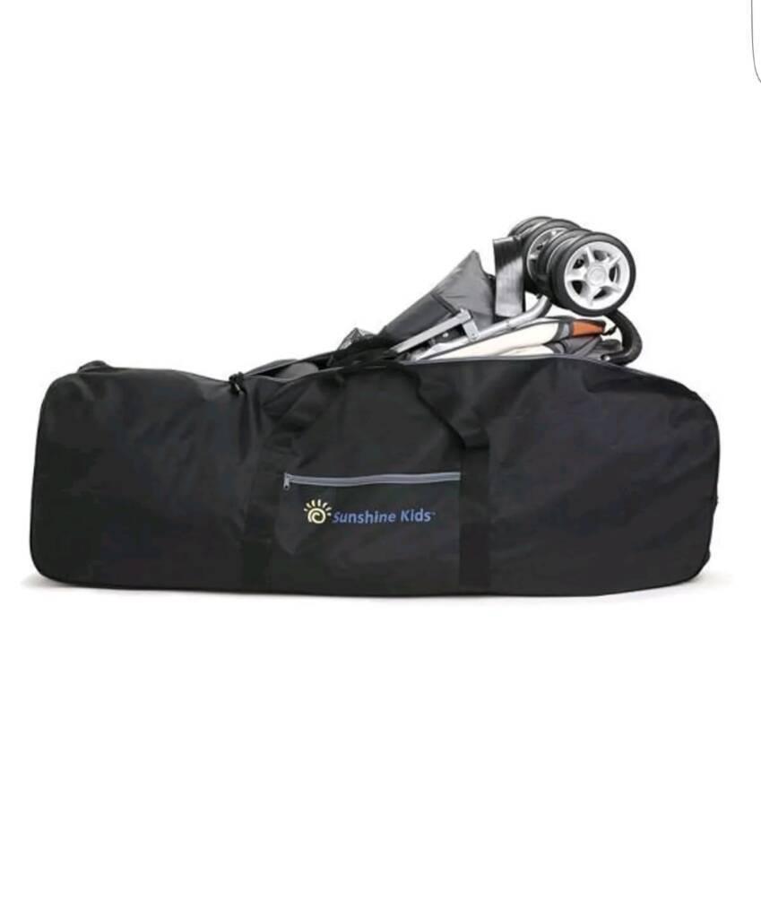 Sunshine Kids® Universal Stroller Roller Travel Bag & Wheels for Pushchair