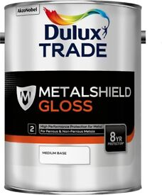 Dulux Trade Metalshield Gloss 5 litres- Colour Merlin