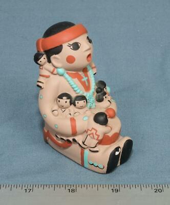 Cleo Teissedre Storyteller Figurine 6 Children Vintage Tucson dq