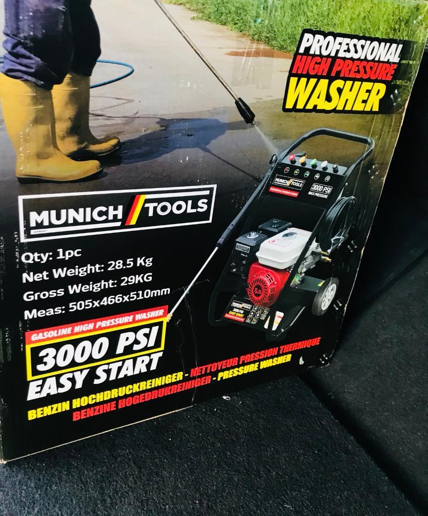 munich tools pressure washers for sale