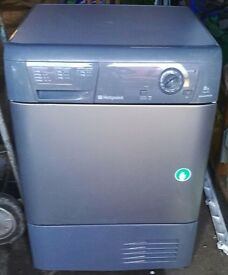 HOTPOINT 8KG CONDENCER TUMBLE DRYER IN GOOD WORKING ORDER