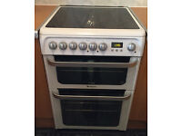 Hotpoint Double Fan Oven Immaculate Condition - Delivery Available