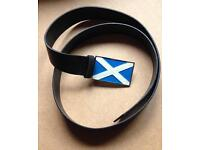 Scotland belt, up to 38' waist leather new