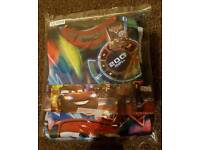 Boys cars pyjama set size 5-6years bnwt