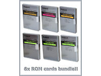6 Roland TN-SC1-01 02 03 11 13 14 Style Cards ROM arranger keyboard/module/piano sound cards