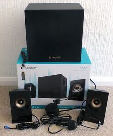 Logitech Z533 2.1 Multimedia Speakers with Sub-Woofer