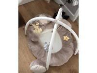 Mothercare bear baby play matt