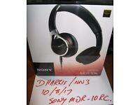 Sony MDR-10RC headphones, new, still factory sealed.