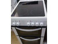 (ex display) LOGIK LFTG50W16 50 cm Gas Cooker - White