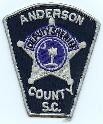 Embroidered Shoulder Patch Anderson County South Carolina Deputy Sheriff Office