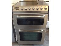 Electric cooker 60 cm ceramic double oven