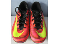 Nike Mercurial Football Boots, size 6