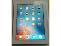 ipad 3, 16GB, wifi and 4G Cellular Unlocked, Excellent Condition