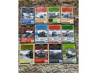 British railway illustrated magazines 1996 complete year