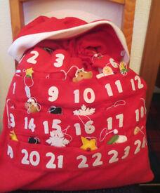 Advent Calendar/Santa Sack