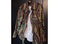 Vintage Thermo King Tree Print Shirt L